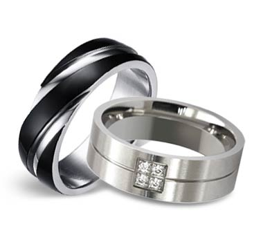 shop now - Wedding Rings Black